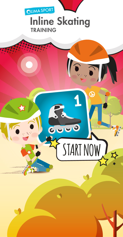 "Inline Skating-App – Training ""START NOW"""