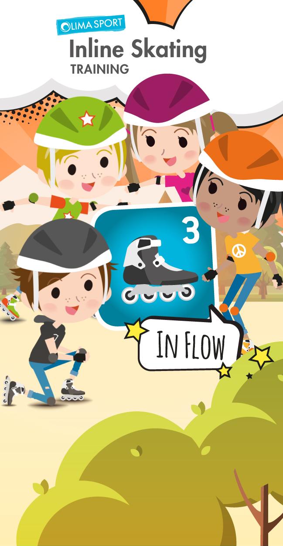 """Inline Skating-App – Training """"IN FLOW"""""""