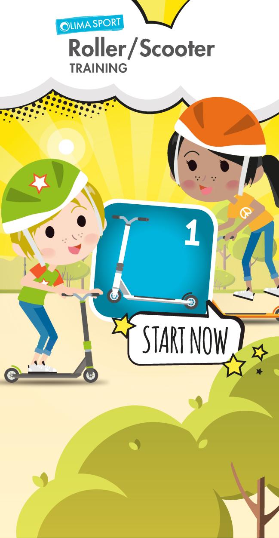 """Roller-App – Training """"START NOW"""""""