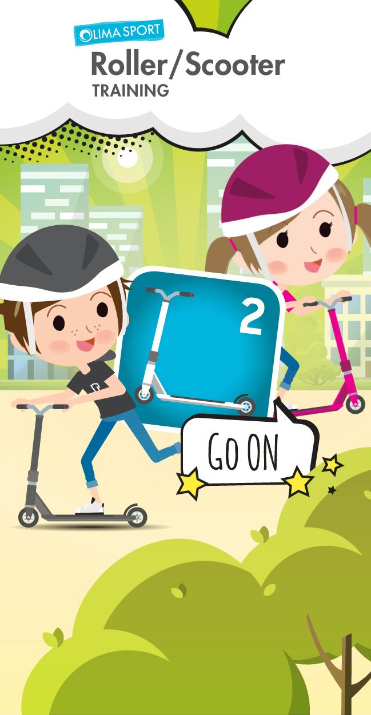 """Roller-App – Training """"GO ON"""""""