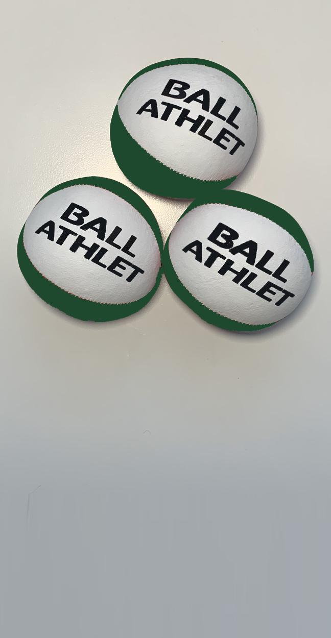 Jonglierset grün-weiß inkl. Trainingsprogramm