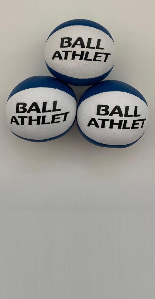 Jonglierset blau-weiß inkl. Trainingsprogramm